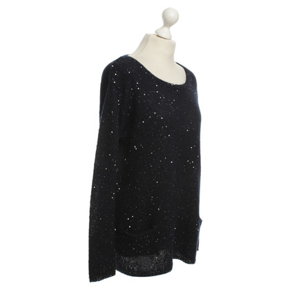 Bloom Sequin sweater in blue