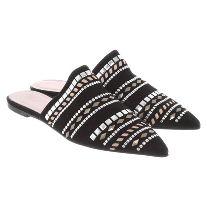 Pretty Ballerinas Mules in black