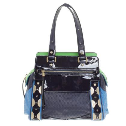 Versace Handtasche in Tricolor