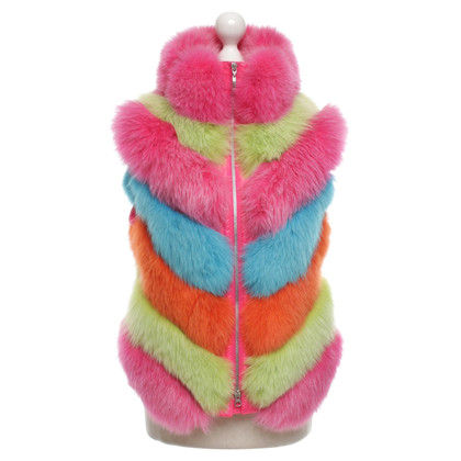 Escada Bont vest in Multicolor