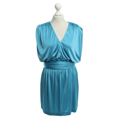 Halston Heritage vestito da cocktail in turchese