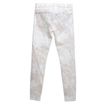 7 For All Mankind Jeans mit Batik-Muster
