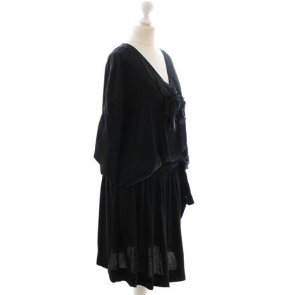 Lanvin Black satin dress