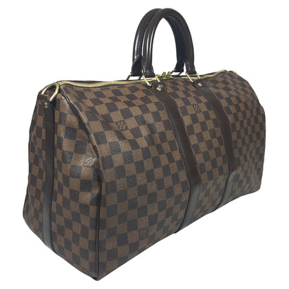 "Louis Vuitton ""Keepall 45 Damier Ebene Canvas"""