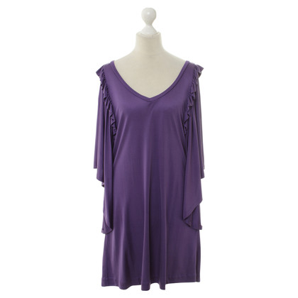 Paul & Joe Silk dress in purple