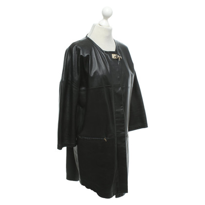 Fay Coat made of leather