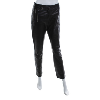 Versus Leather pants in black