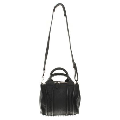 Alexander Wang Shoulder bag in black leather
