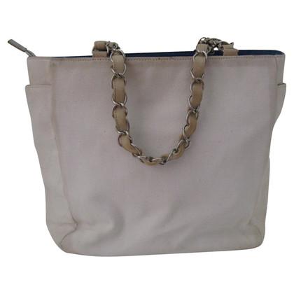 Chanel Chanel No.5 Chain Tote Bag Canvas