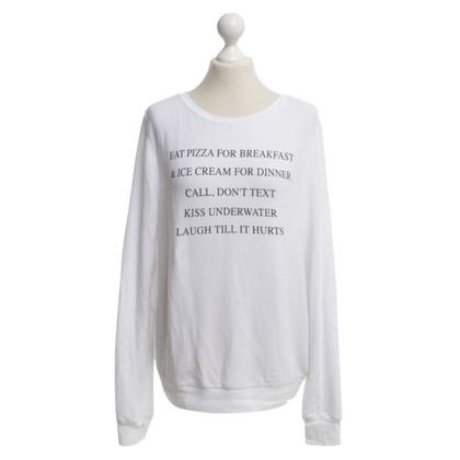 Wildfox Sweatshirt in Weiß