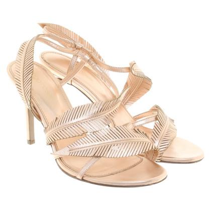 Sergio Rossi Sandals in rose / gold