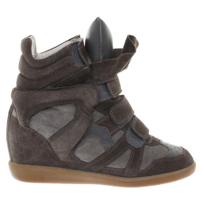 Isabel Marant Sneaker Wedges in Bruin