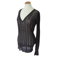 Iris von Arnim Brown summer sweater