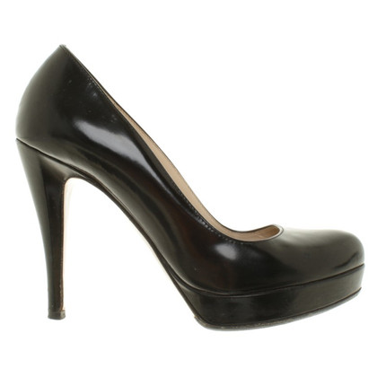 Max Mara Pumps in Schwarz