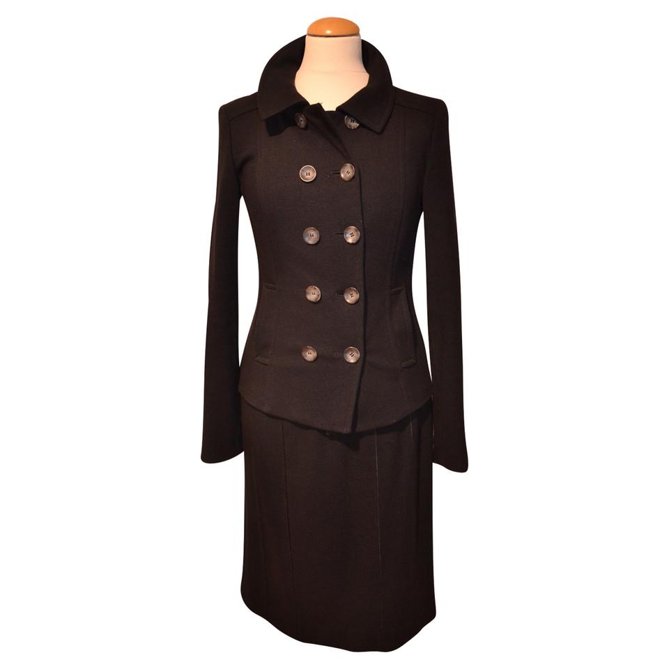 marc cain kleid mit blazer in schwarz second hand marc. Black Bedroom Furniture Sets. Home Design Ideas