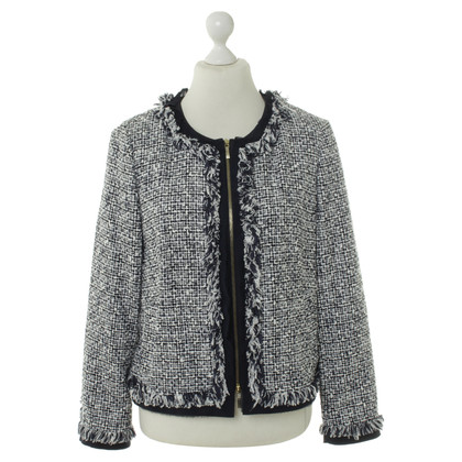 Rena Lange Jacket in blue and white