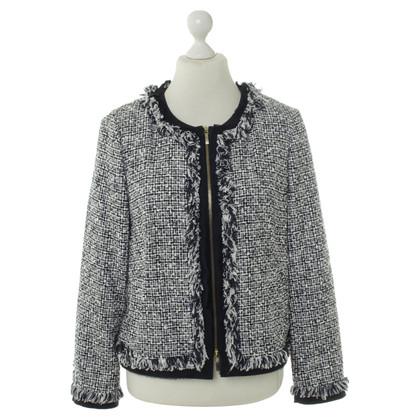 Rena Lange Jacke in Blau-Weiß