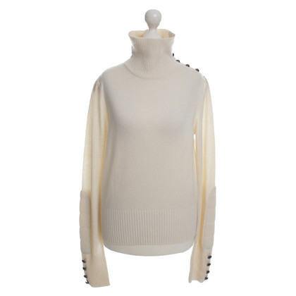 Diane von Furstenberg Cashmere sweater in cream