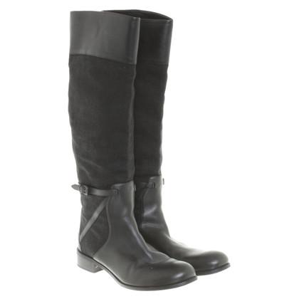 Bottega Veneta Black leather boot