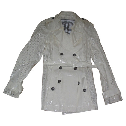 Chanel Trench jacket in white