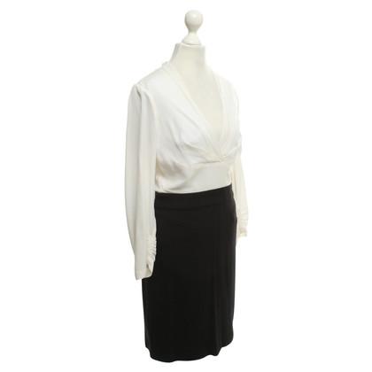 BCBG Max Azria Kleid mit Seideneinsatz