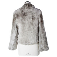 Other Designer Kif if - gray lambskin jacket