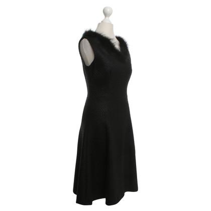 Prada Dress with fur trim