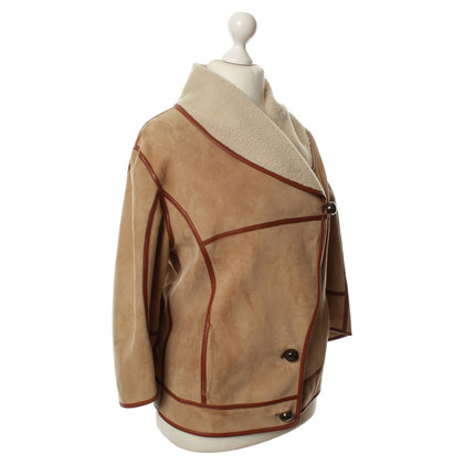 Céline Lamb leather jacket