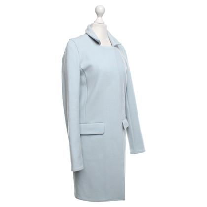 Closed Coat in light blue