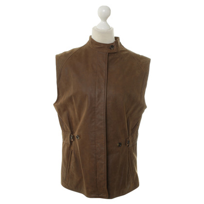 Burberry Gilet in pelle