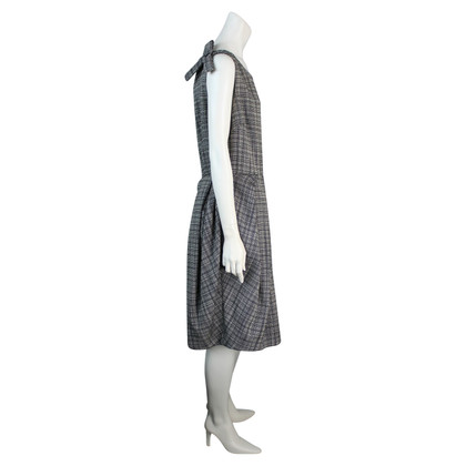 Christian Dior Checked cocktail dress