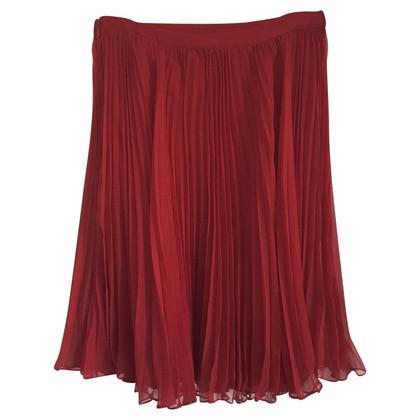 Ralph Lauren Aangerimpelde rok gemaakt van zijde