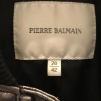 Pierre Balmain leren jas