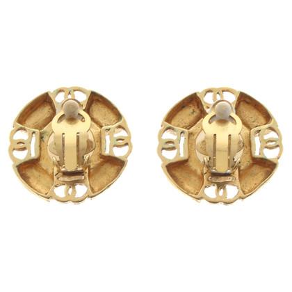 Chanel Oorbellen met clip-sluiting