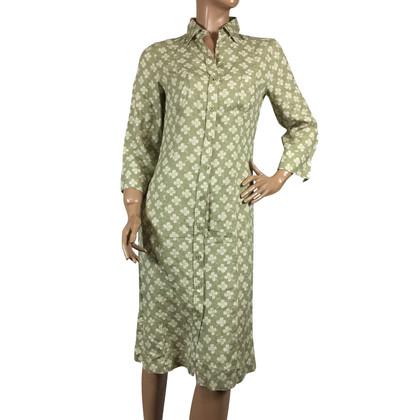 Max Mara Hemdblusenkleid aus Leinen