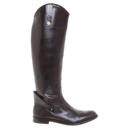 Pollini Boots in dark brown