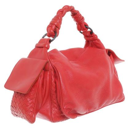 Bottega Veneta Shoulder bag in red