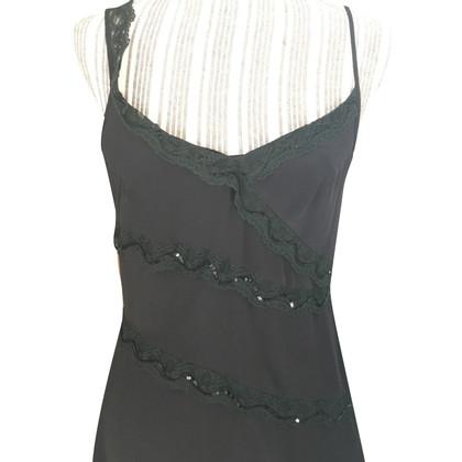BCBG Max Azria abito di seta nera