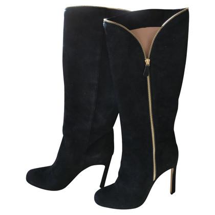 Armani Stiefel aus Wildleder