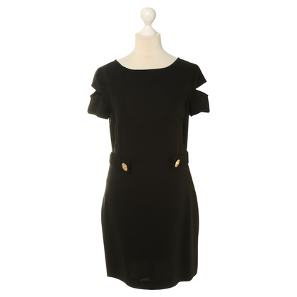 Versace for H&M Silk dress in black