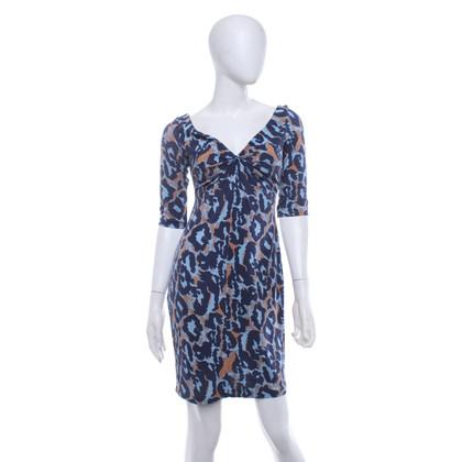 """Diane von Furstenberg Dress """"Tarelle"""" with pattern"""