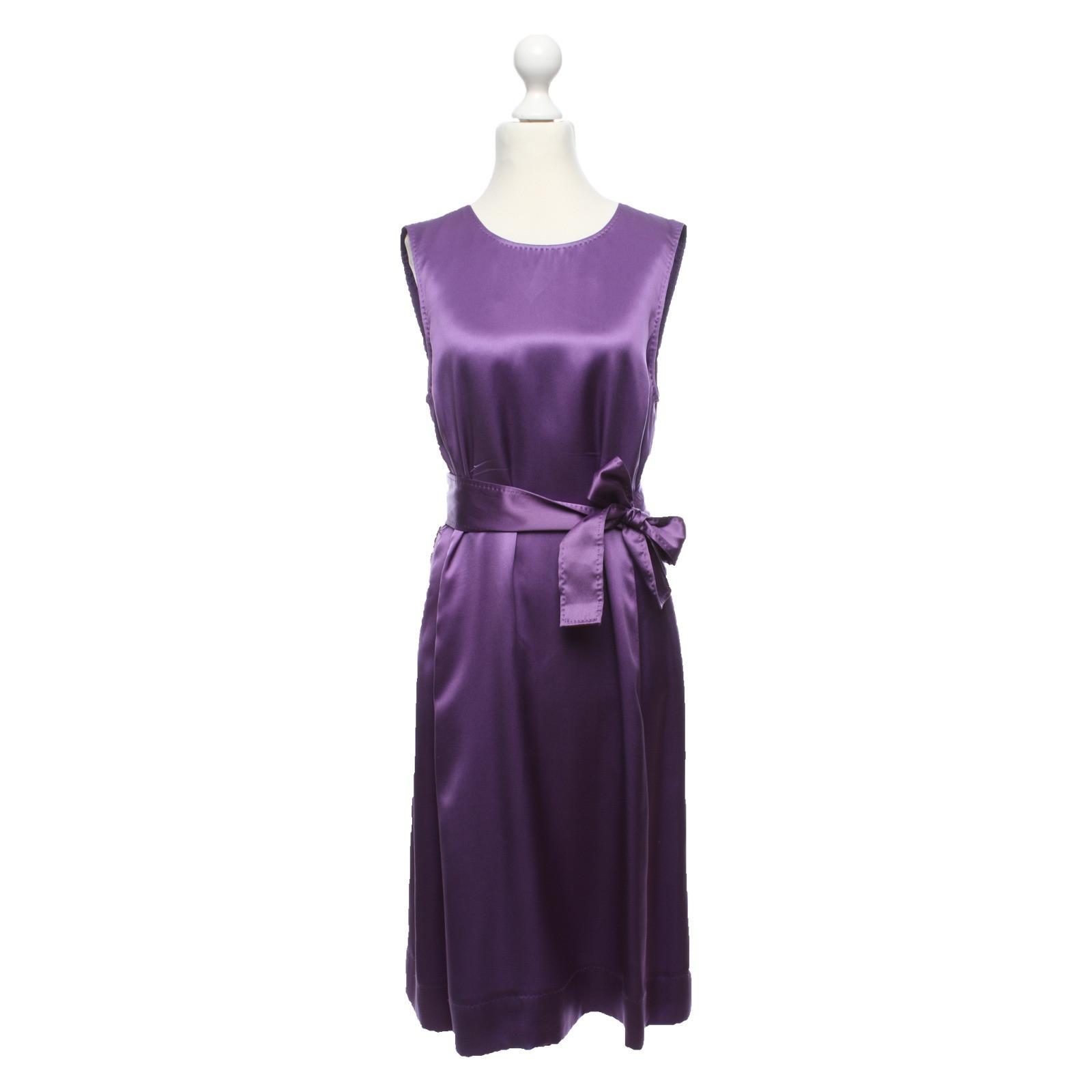 Hugo Boss Kleid in Violett - Second Hand Hugo Boss Kleid in