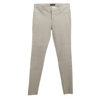 Other Designer DNA - leather trousers in beige