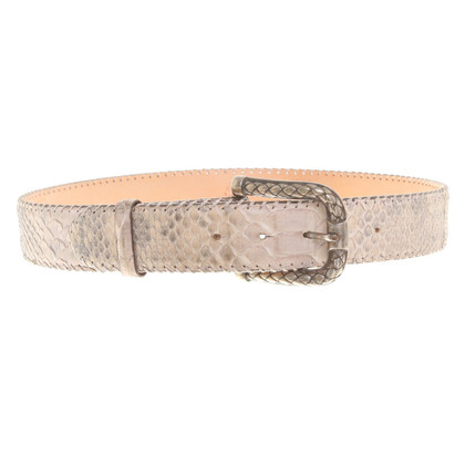 Reptile's House Python leather belt