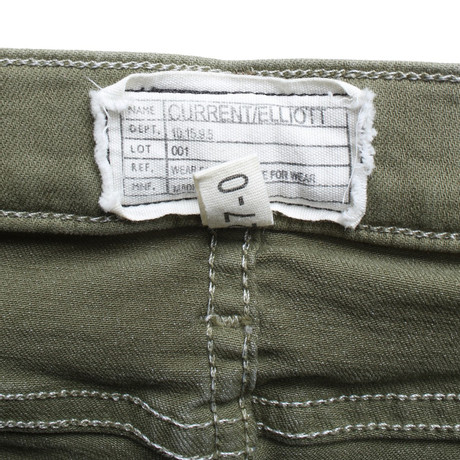 Current Elliott Jeans in Grün Grün Billig Verkauf Online VtxkZOju