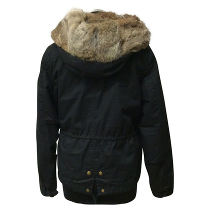 Woolrich Jacke mit Pelzfutter