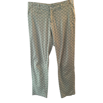 Paul & Joe Trousers with a fish motif