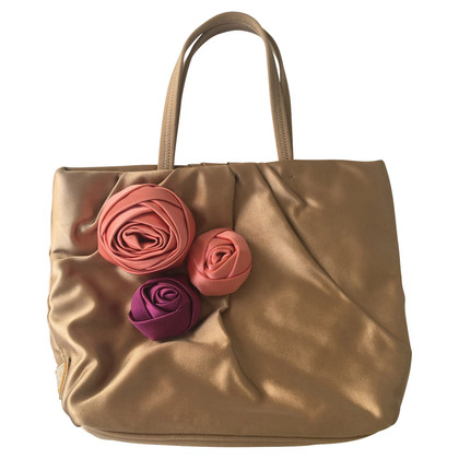 Prada Bag of silk with flowers