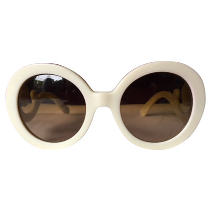 Prada Ivory acetate sunglasses