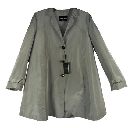 Giorgio Armani Fine light grey transition jacket